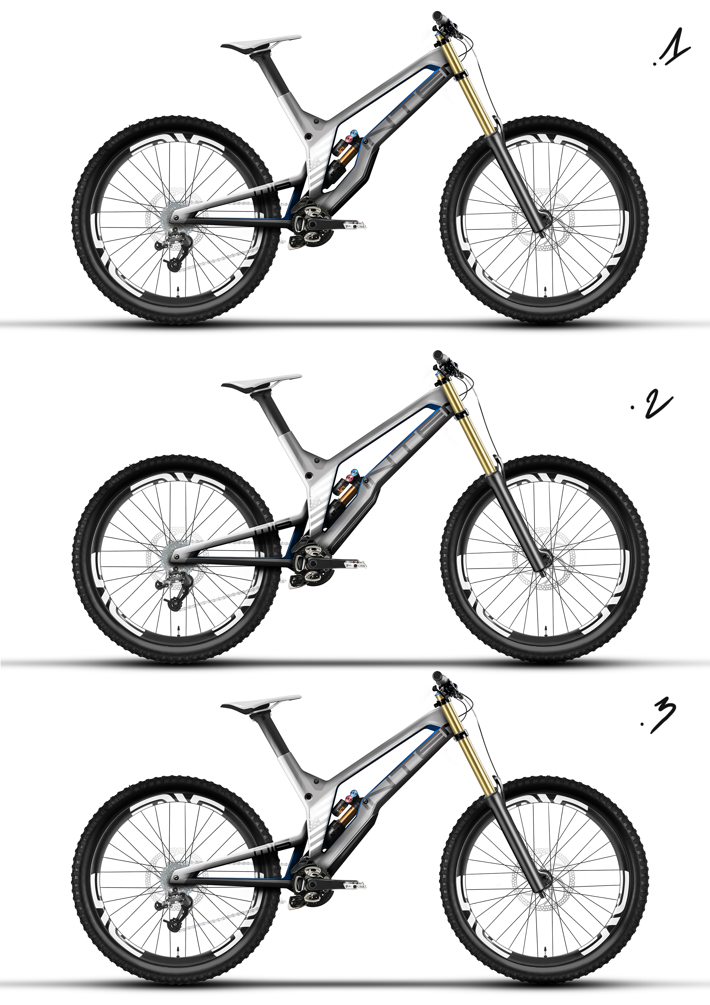 Downtube Proposals